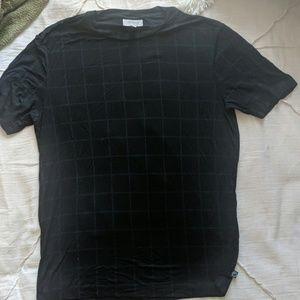Black/Blue Checkered Casual Armani Shirt